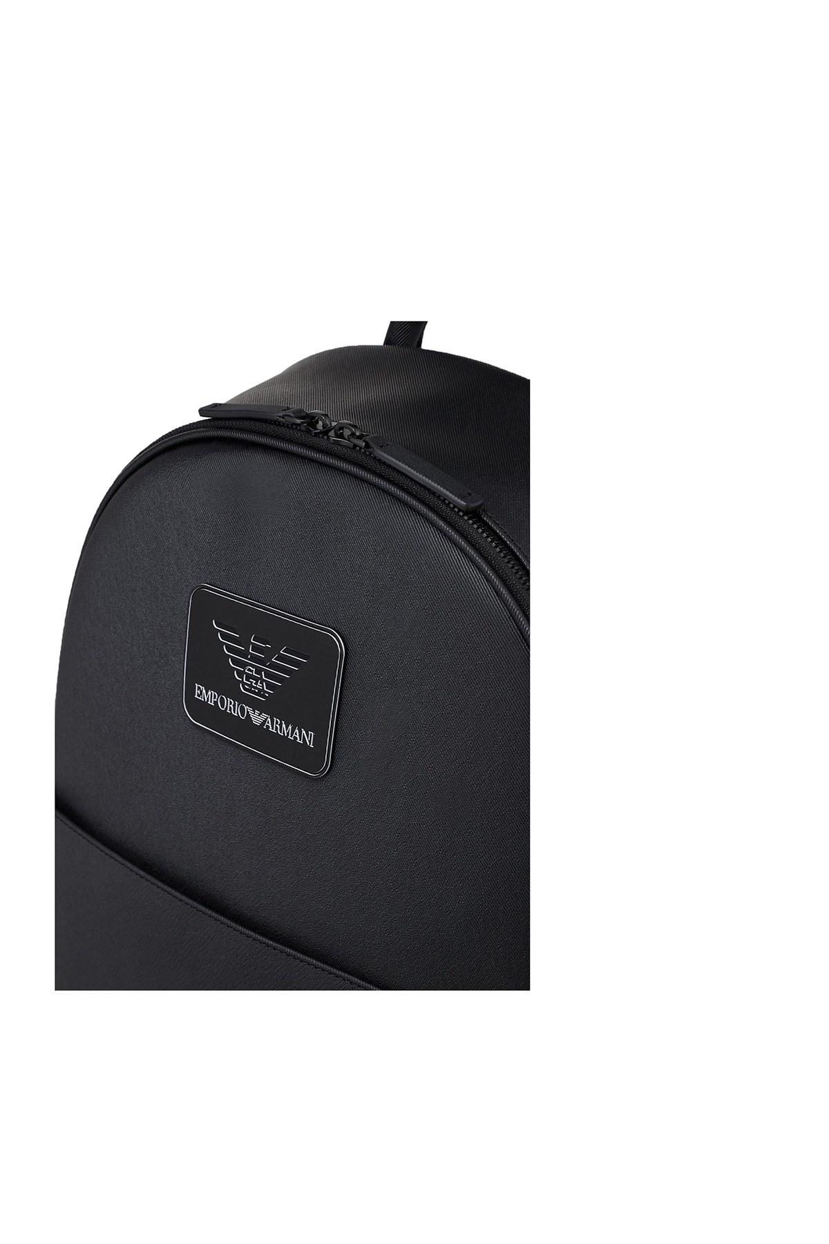 Emporio Armani Marka Logolu Fermuarlı Erkek Çanta Y4O215 Y019V 81072 SİYAH