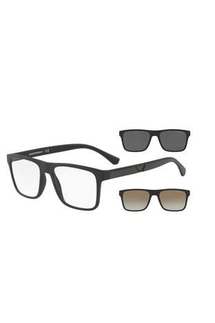 Emporio Armani - Emporio Armani Erkek Gözlük 0EA4115 58531W 54 SİYAH