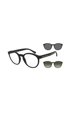 Emporio Armani - Emporio Armani Erkek Gözlük 0EA4152 50421W 52 SİYAH