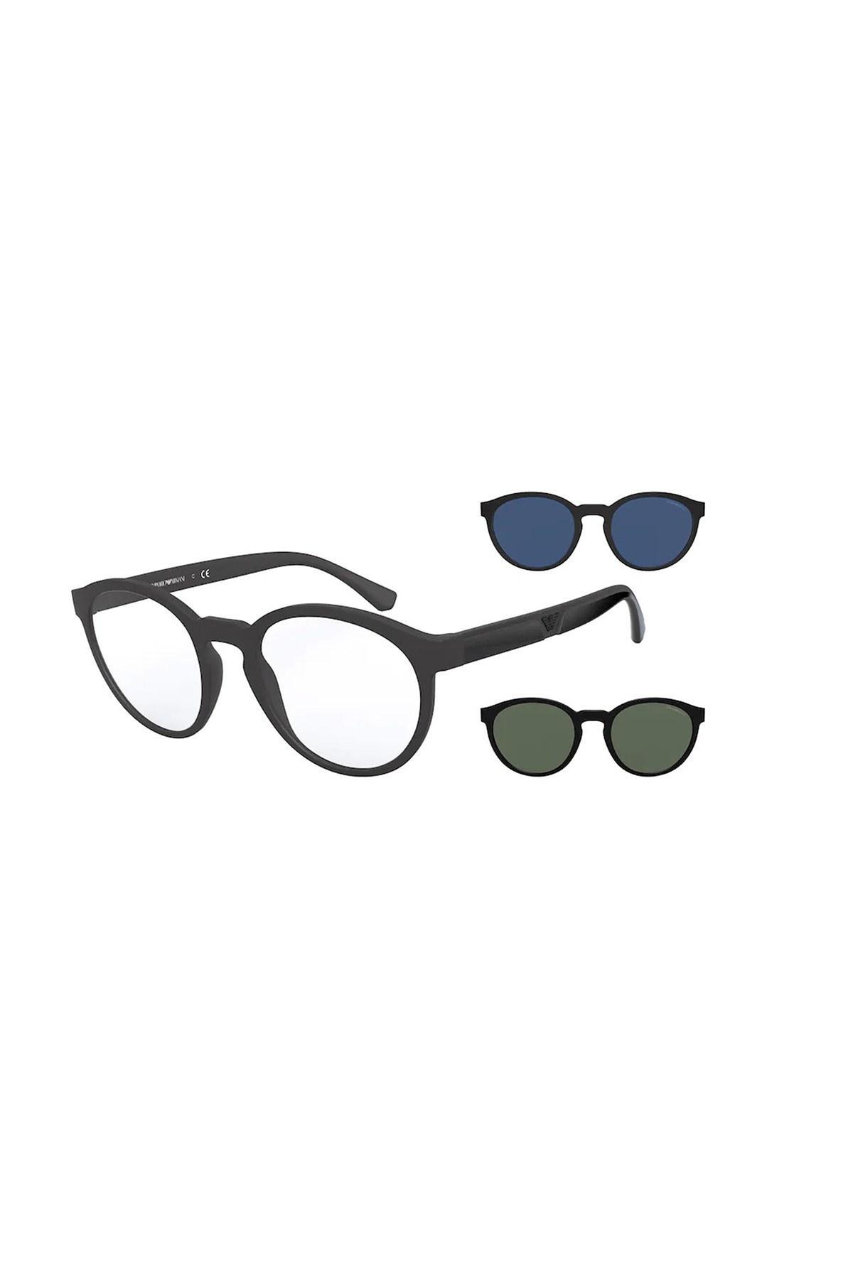 Emporio Armani Erkek Gözlük 0EA4152 58011W 52 SİYAH