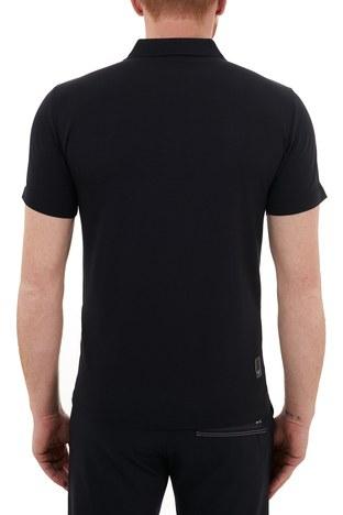 Emporio Armani - Emporio Armani Pamuklu Fermuarlı T Shirt Erkek Polo S 6H1FE0 1JJRZ 0920 LACİVERT (1)