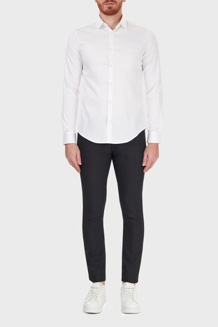 Emporio Armani - Emporio Armani Pamuklu Slim Fit J06 Jeans Erkek Kot Pantolon 6H1J06 1N2NZ 0999 SİYAH