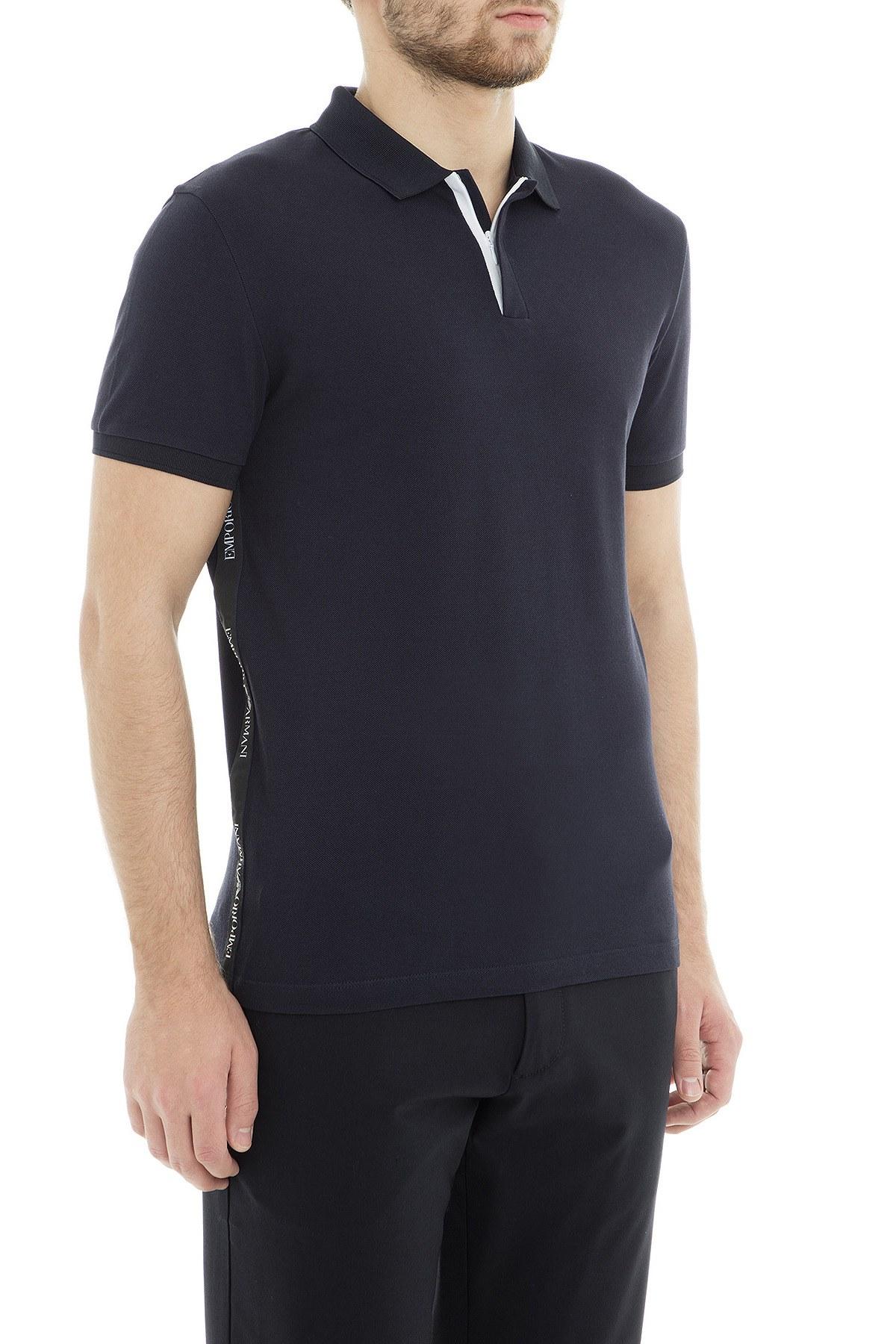 Emporio Armani Polo Erkek T Shirt 3G1F61 1J0SZ 0922 LACİVERT