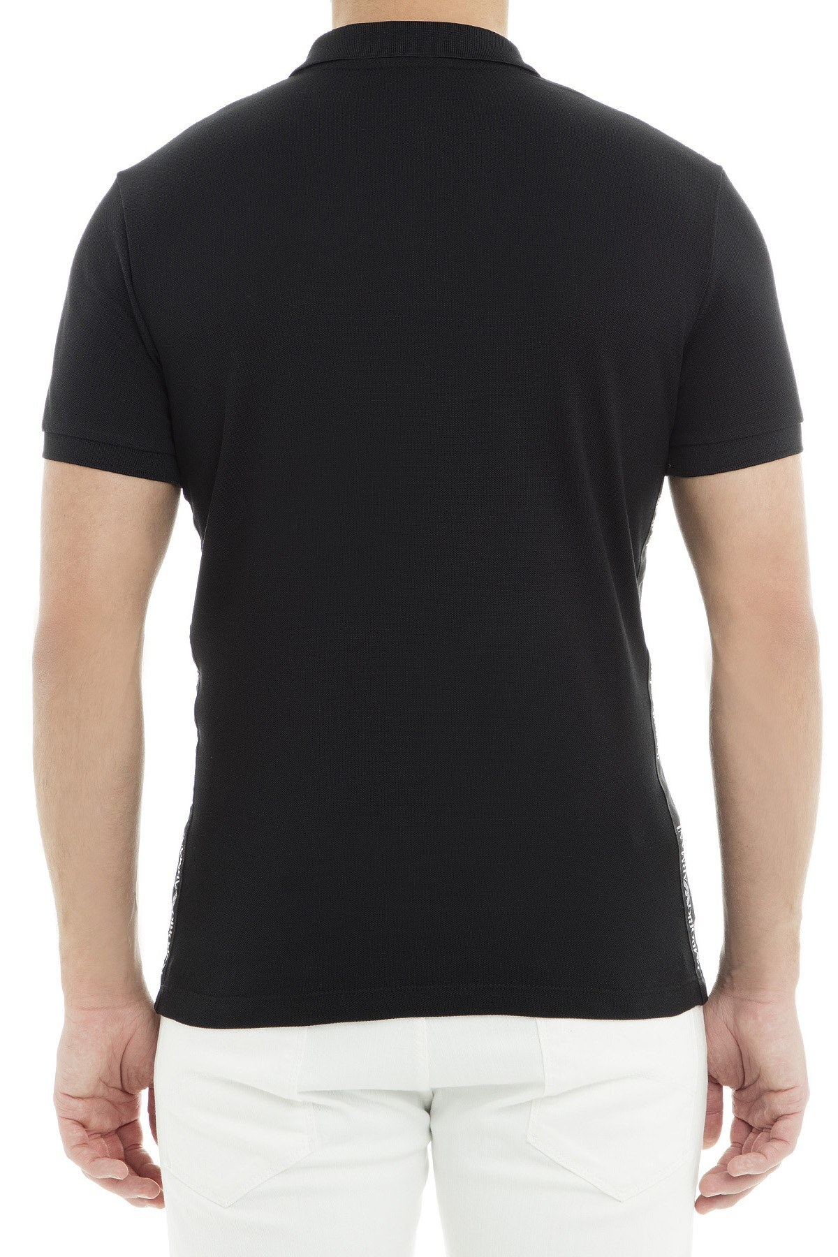 Emporio Armani Polo Erkek T Shirt 3G1F61 1J0SZ 0999 SİYAH