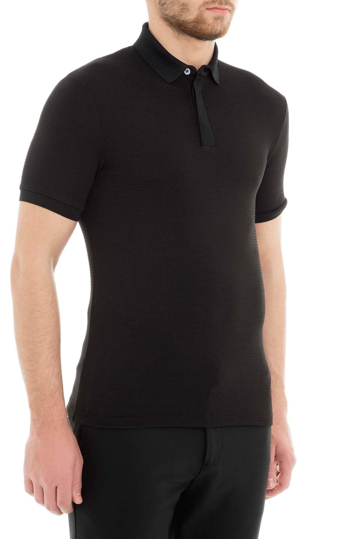 Emporio Armani Polo Erkek T Shirt 3G1F72 1J57Z 0999 SİYAH