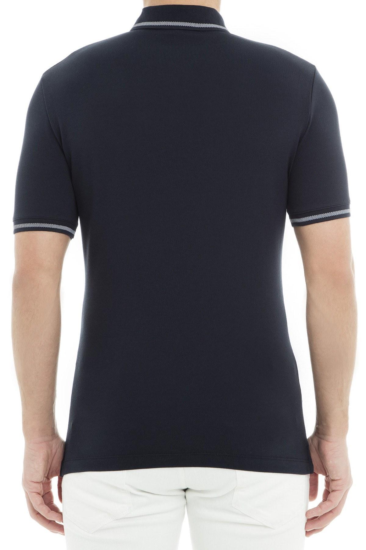 Emporio Armani Polo Erkek T Shirt 3G1F93 1JPTZ 0922 LACİVERT