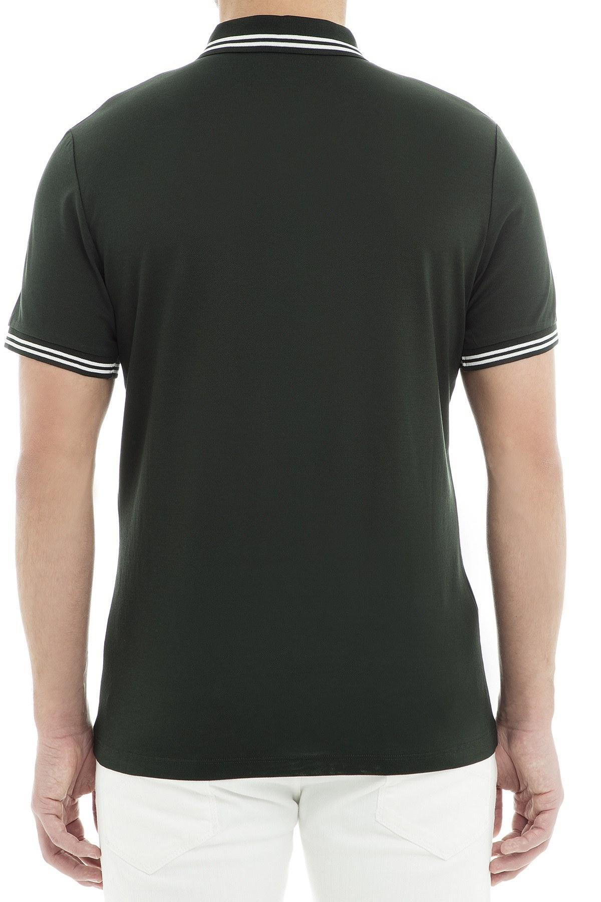 Emporio Armani Polo Erkek T Shirt 3G1FL0 1JBQZ 0537 HAKİ