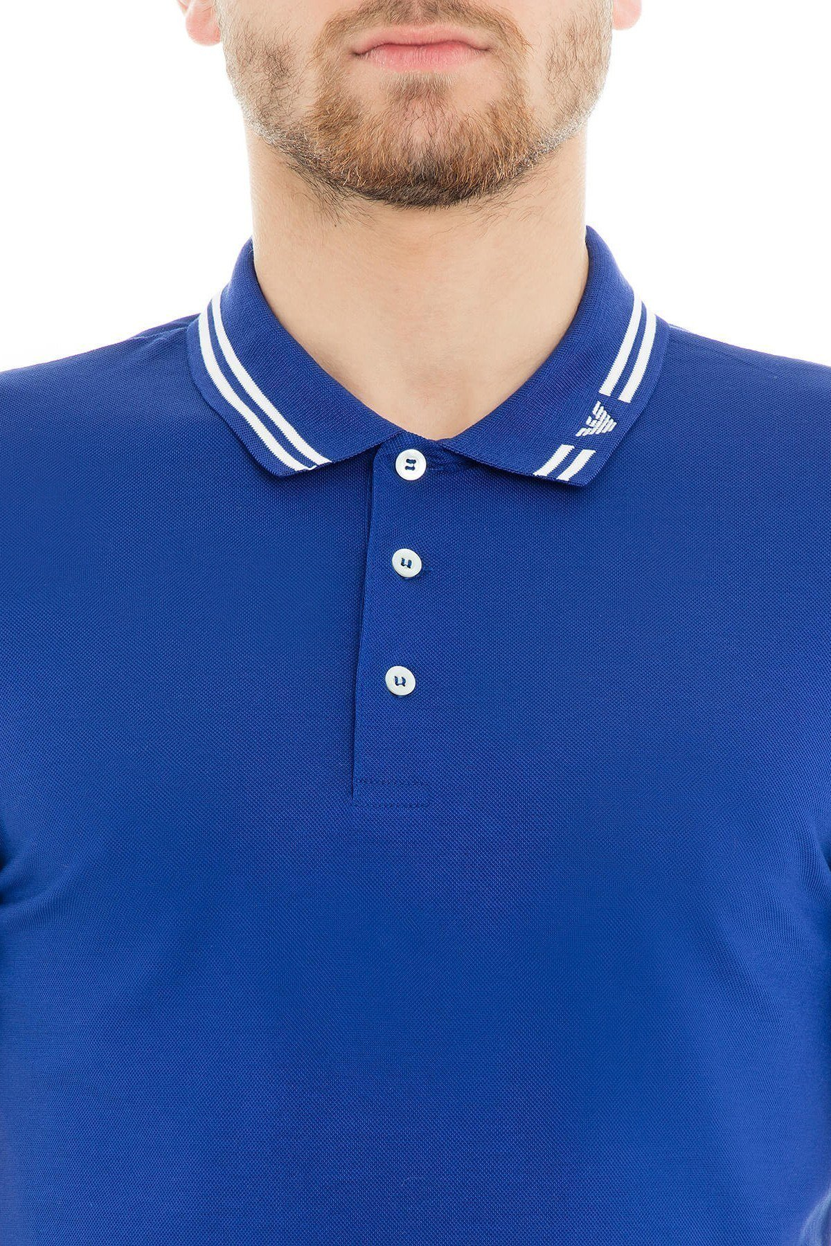 Emporio Armani Polo Erkek T Shirt 3G1FL0 1JBQZ 0948 SAKS