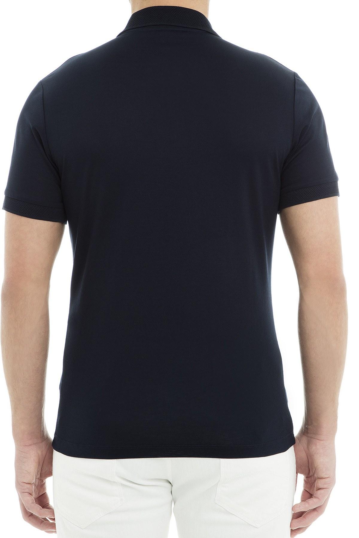 Emporio Armani Polo Erkek T Shirt 3G1FL2 1JBQZ 0920 LACİVERT
