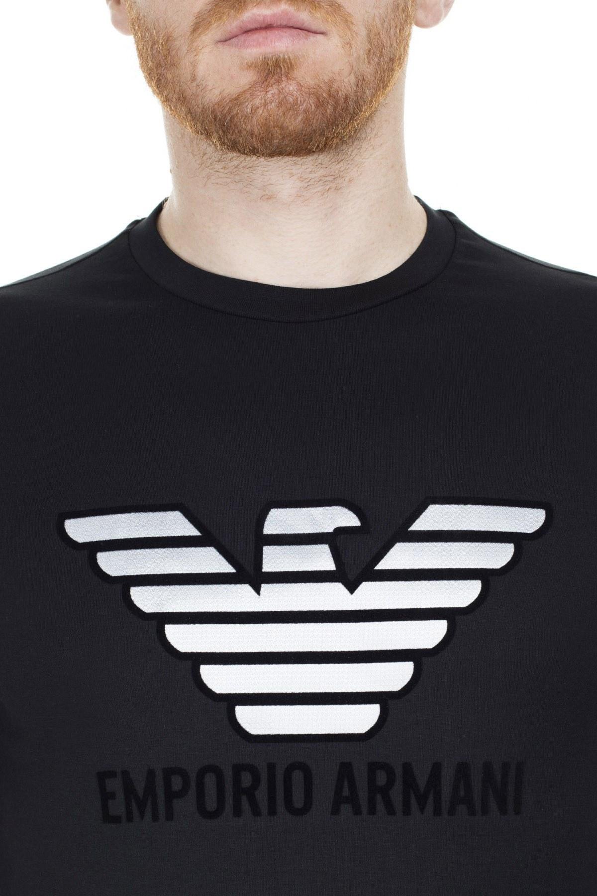 Emporio Armani Regular Fit Erkek T Shirt 3H1T67 1J30Z 0999 SİYAH