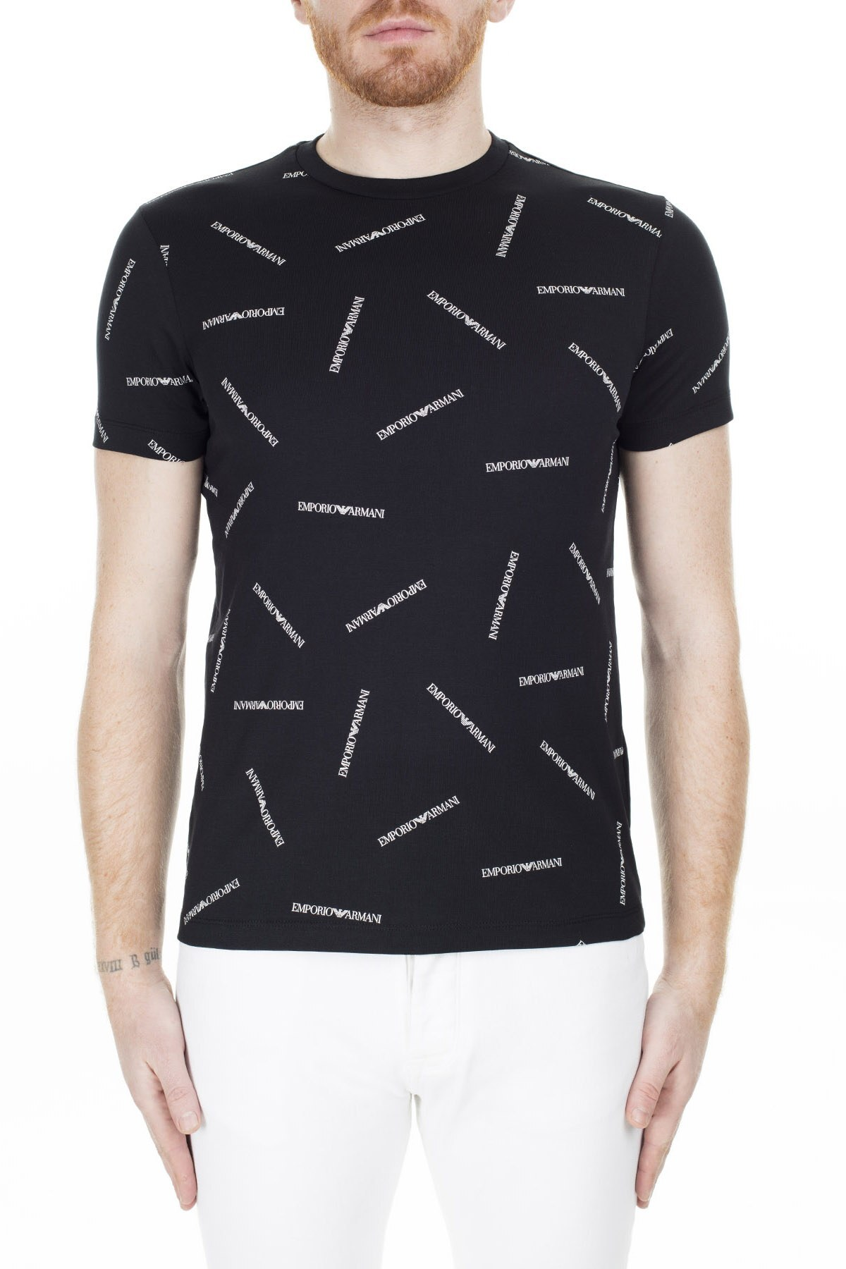 Emporio Armani Regular Fit Erkek T Shirt 3H1TD7 1J30Z F928 SİYAH