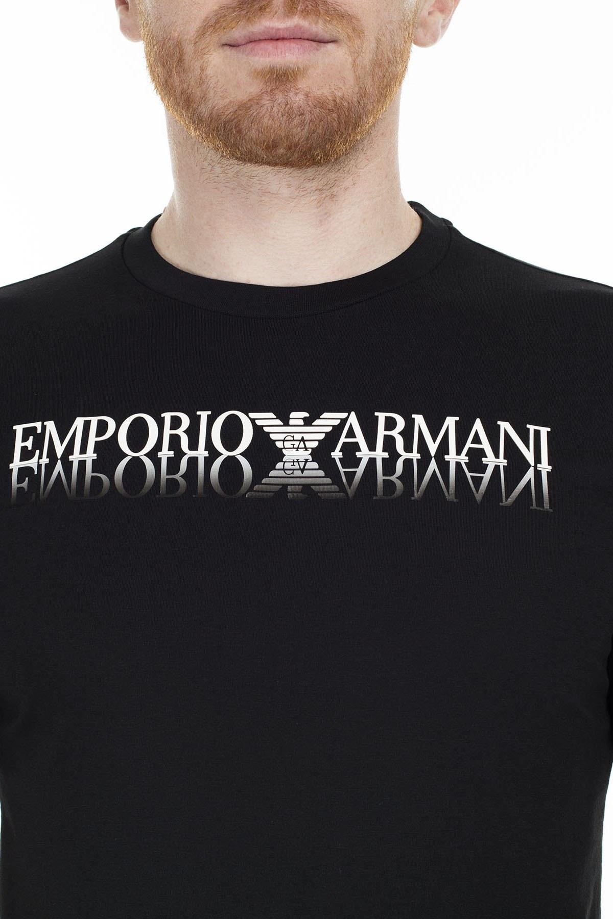 Emporio Armani Regular Fit Erkek T Shirt S 6G1TC3 1J00Z 0999 SİYAH