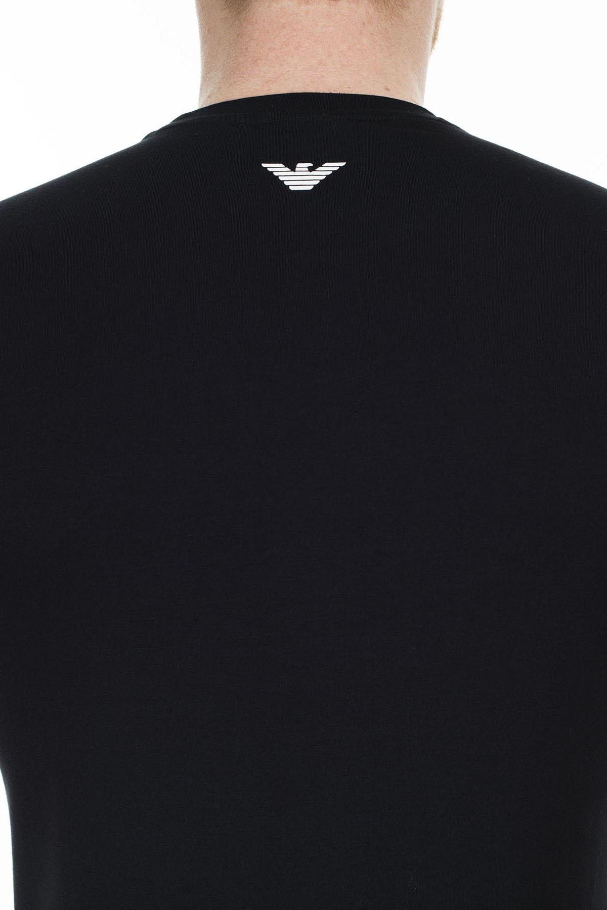 Emporio Armani Regular Fit Erkek T Shirt S 6G1TD5 1J0AZ 0002 SİYAH