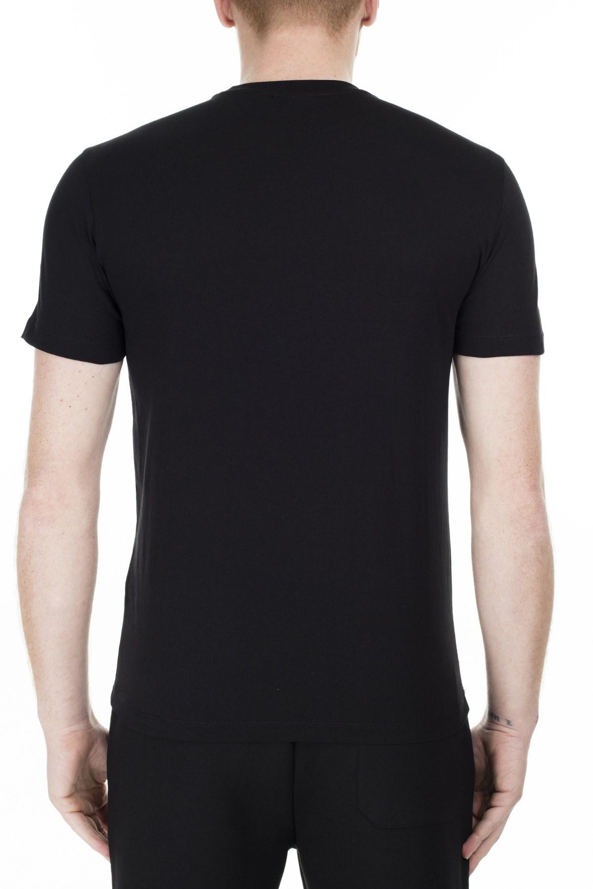 Emporio Armani Regular Fit Erkek T Shirt S 6G1TE6 1J00Z 0999 SİYAH