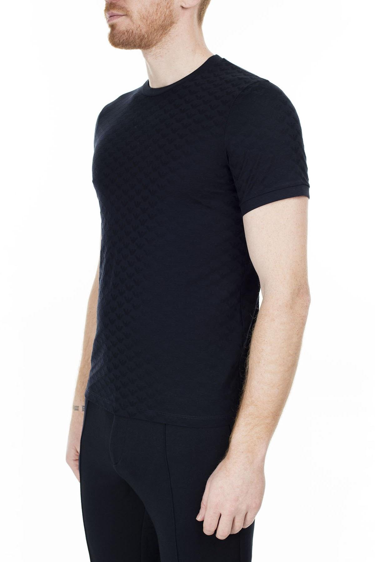 Emporio Armani Regular Fit Erkek T Shirt S 6G1TL7 1JHWZ 0920 LACİVERT