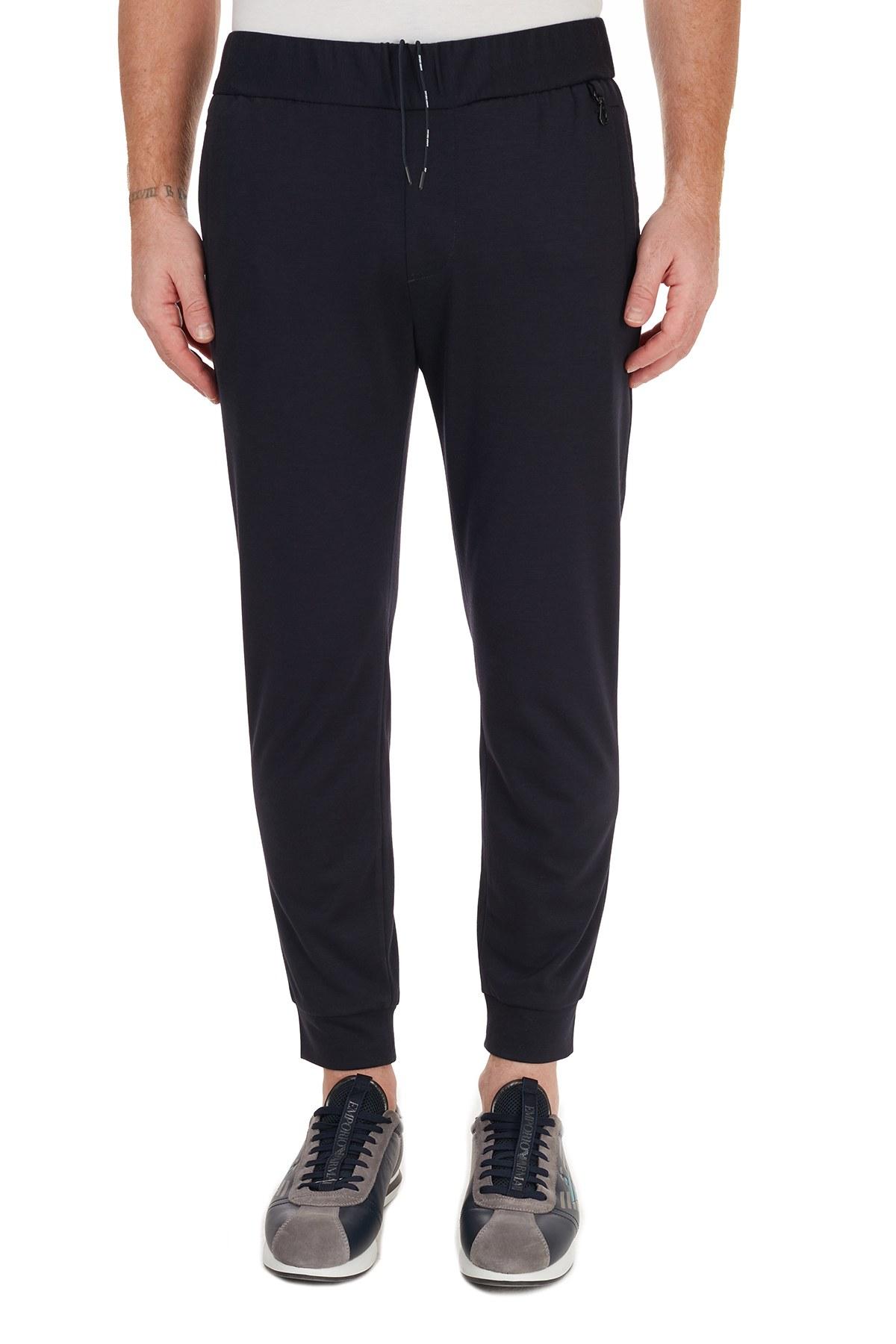 Emporio Armani Regular Fit Jogger Erkek Pantolon 6H1P78 1JEZZ 0920 LACİVERT