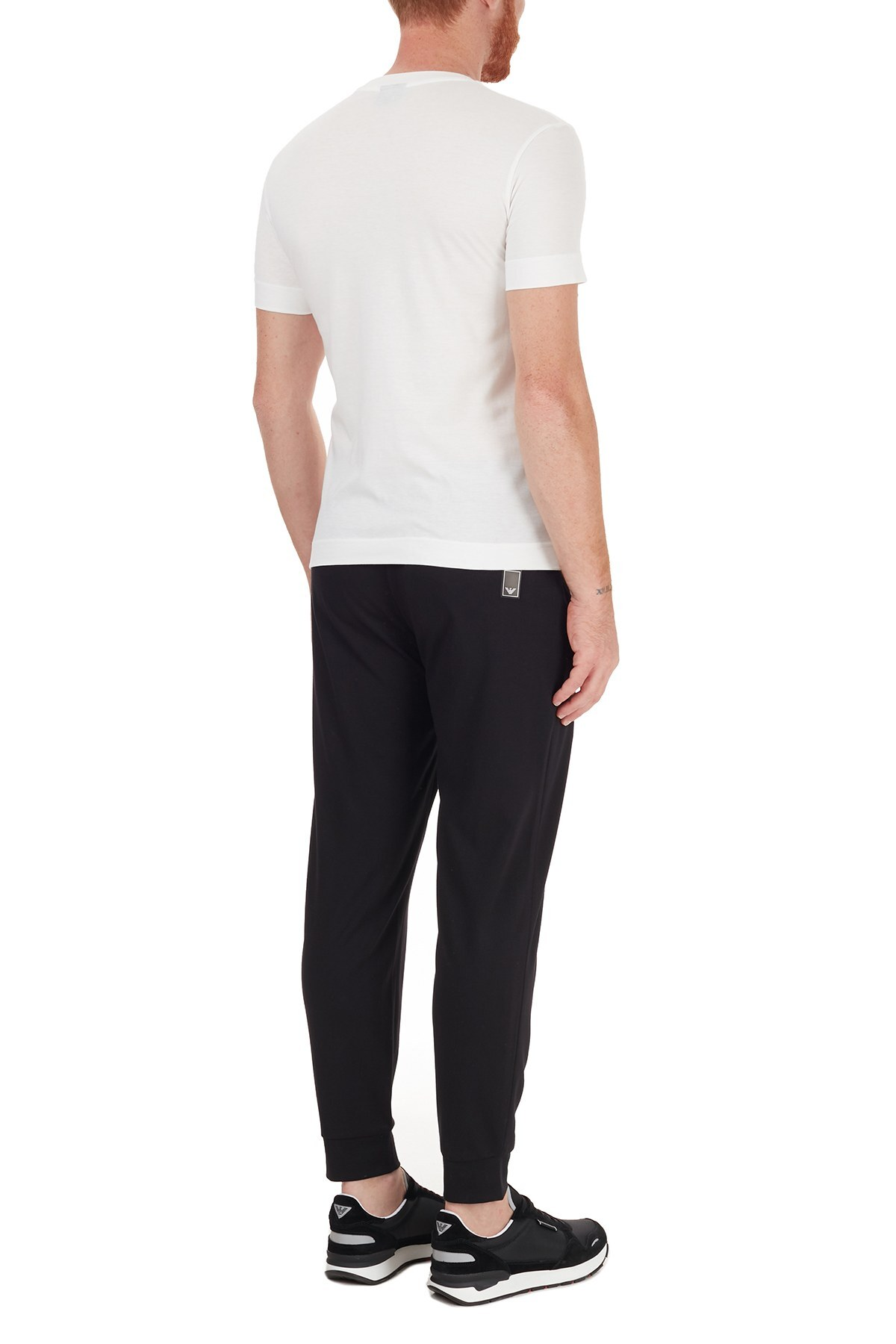 Emporio Armani Regular Fit Jogger Erkek Pantolon 6H1P78 1JEZZ 0999 SİYAH
