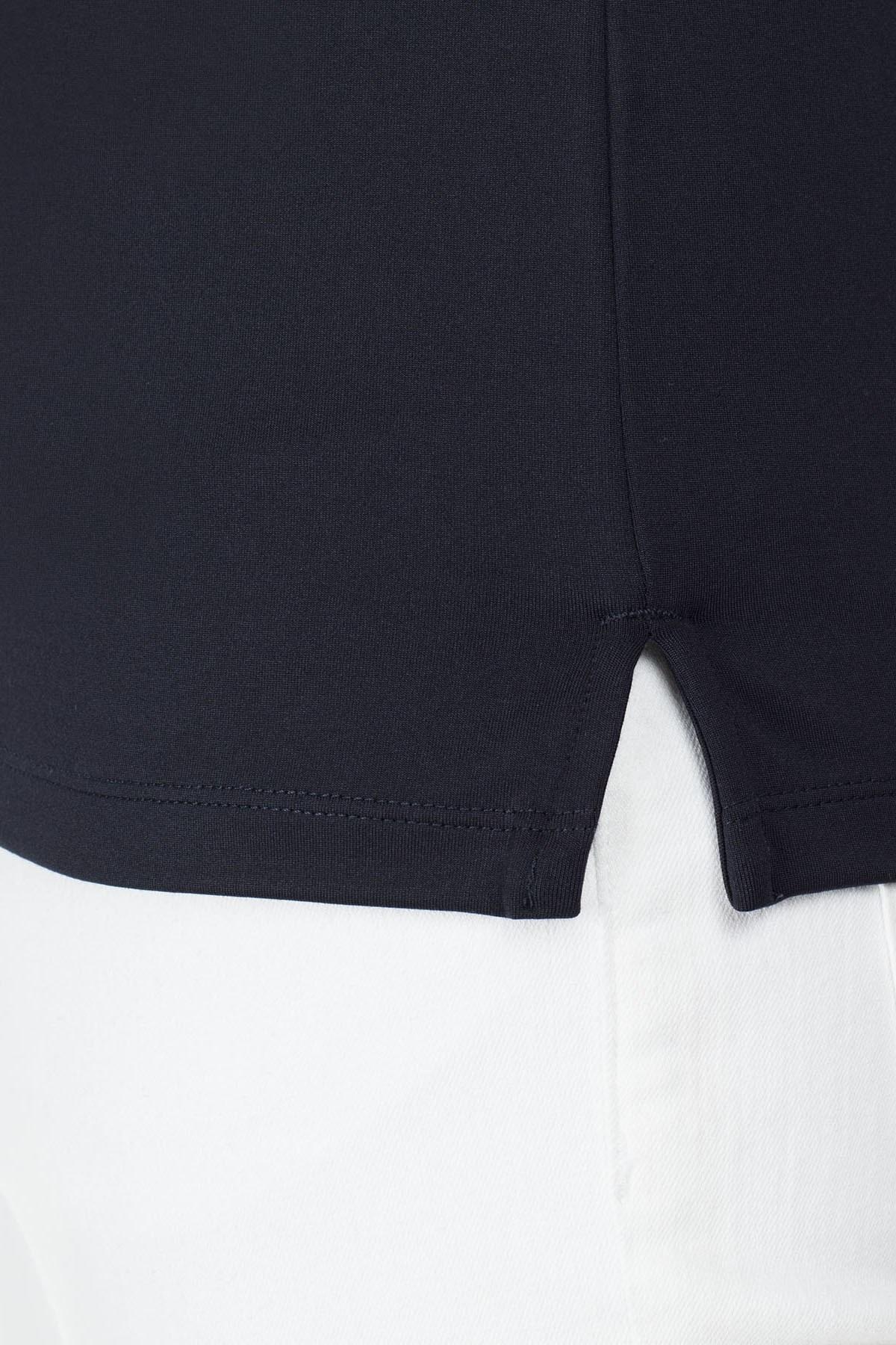 Emporio Armani T Shirt Erkek Polo S 6G1FG1 1J84Z 0922 LACİVERT