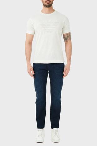 Emporio Armani - Emporio Armani Slim Fit Pamuklu J06 Jeans Erkek Kot Pantolon S 6H1J06 1DU2Z 0941 LACİVERT