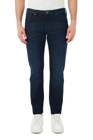 Emporio Armani - Emporio Armani Slim Fit Pamuklu J06 Jeans Erkek Kot Pantolon S 6H1J06 1DU2Z 0941 LACİVERT (1)