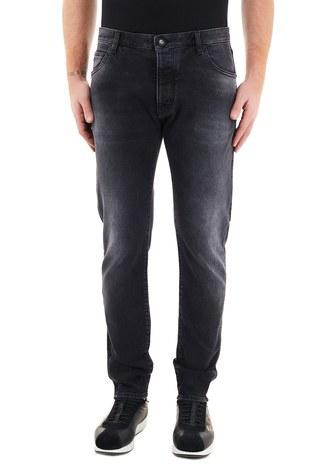 Emporio Armani - Emporio Armani Slim Fit Pamuklu J09 Jeans Erkek Kot Pantolon 6H1J09 1DL4Z 0006 SİYAH (1)