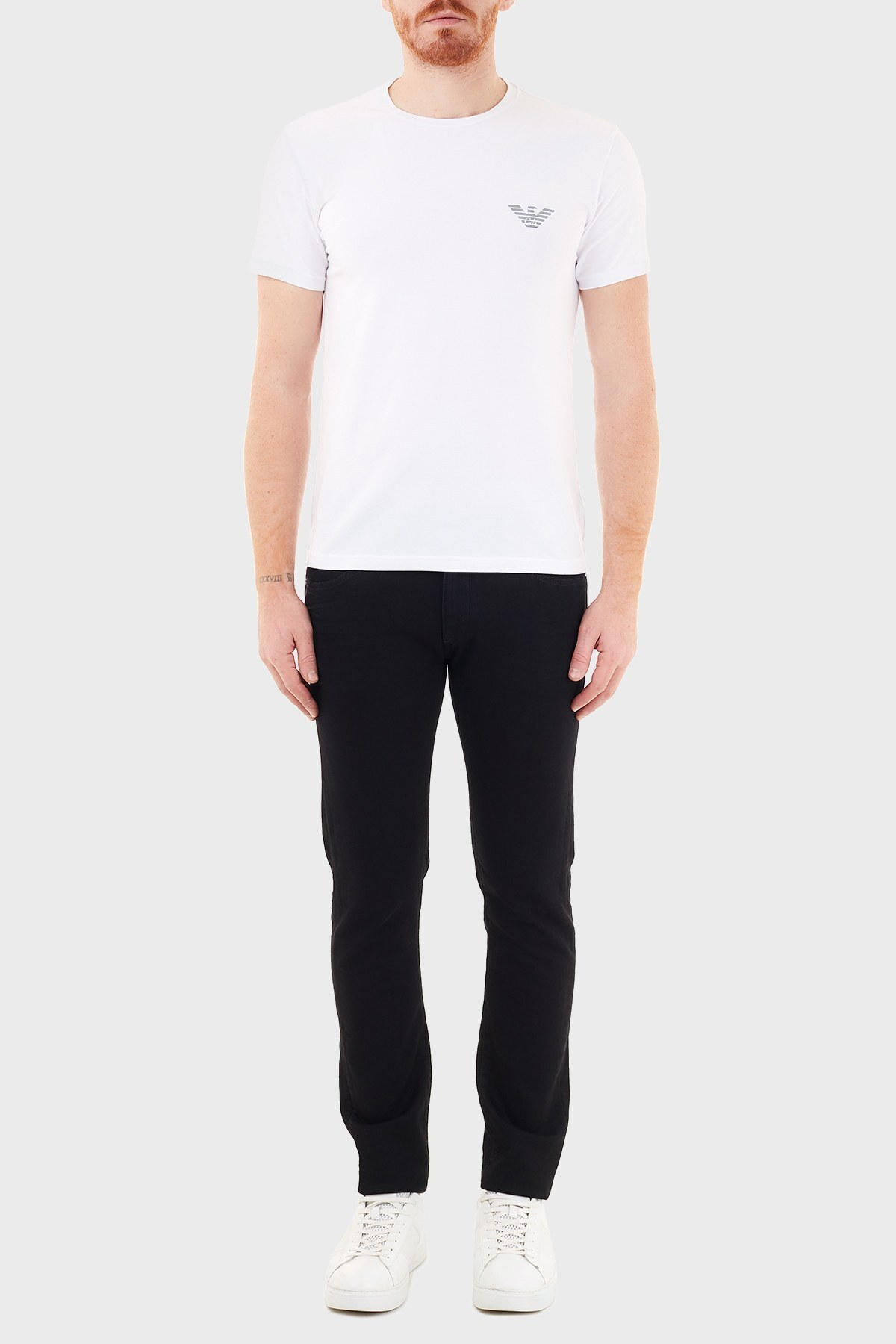 Emporio Armani Slim Fit Pamuklu J10 Jeans Erkek Kot Pantolon 6H1J10 1DM9Z 0005 SİYAH