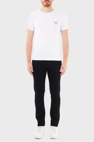 Emporio Armani - Emporio Armani Slim Fit Pamuklu J10 Jeans Erkek Kot Pantolon 6H1J10 1DM9Z 0005 SİYAH