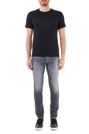 Emporio Armani - Emporio Armani Slim Fit Pamuklu J75 Jeans Erkek Kot Pantolon 6H1J75 1DU0Z 0007 SİYAH