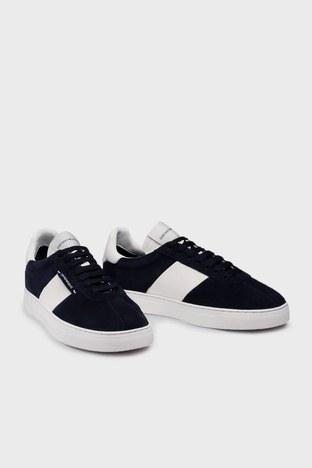 Emporio Armani - Emporio Armani Sneaker Erkek Ayakkabı S X4X541 XM692 K568 LACİVERT-BEYAZ (1)
