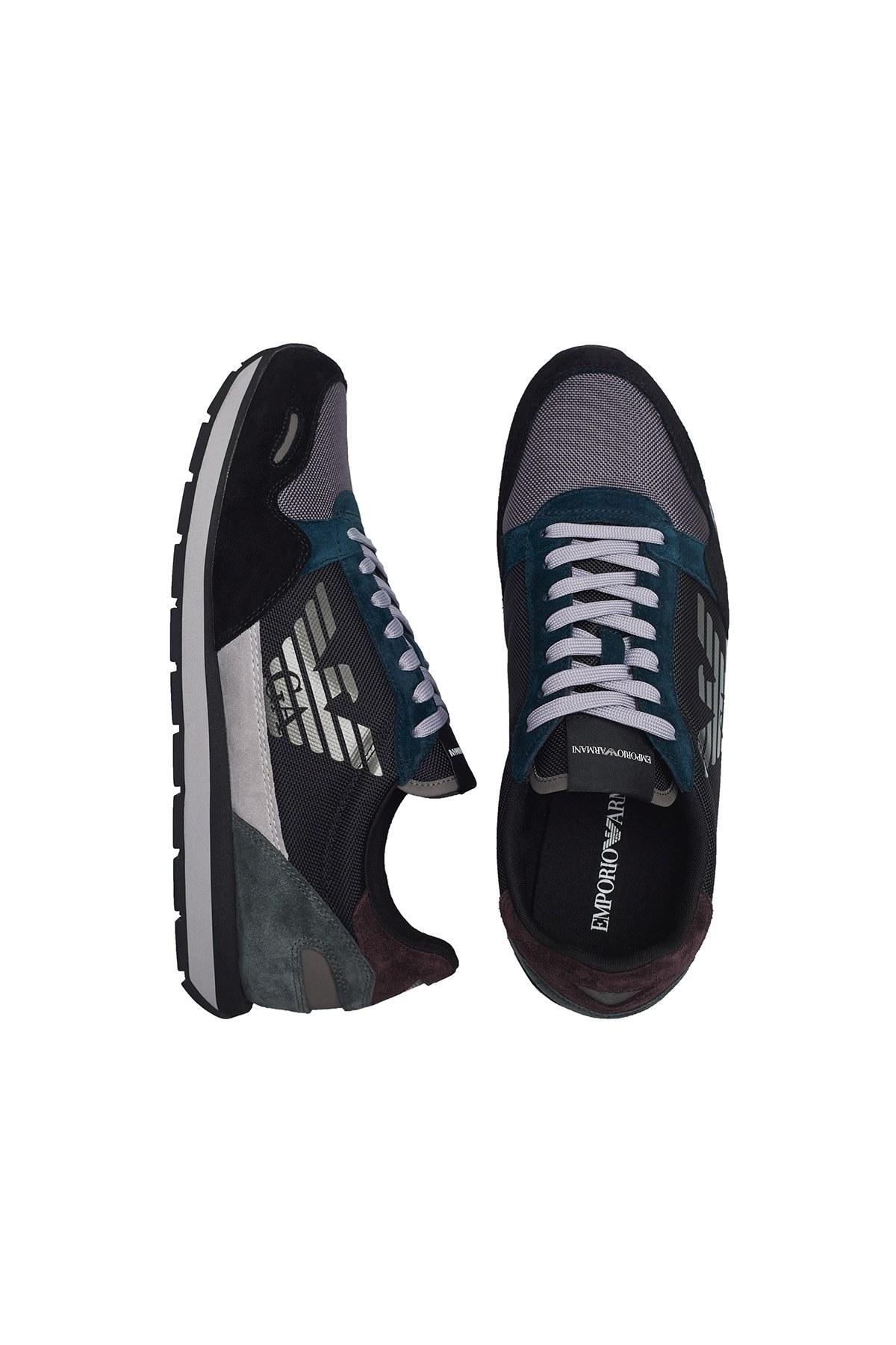 Emporio Armani Sneaker Erkek Ayakkabı X4X215 XL200 N064 SİYAH