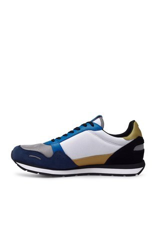 Emporio Armani - Emporio Armani Sneaker Erkek Ayakkabı X4X215 XM561 N235 SİYAH-MAVİ (1)