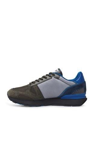 Emporio Armani - Emporio Armani Sneaker Erkek Ayakkabı X4X289 XM499 N017 KAHVE-MAVİ (1)