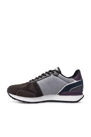 Emporio Armani - Emporio Armani Sneaker Erkek Ayakkabı X4X289 XM499 N022 KAHVE-GRİ (1)