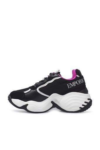 Emporio Armani Sneaker Bayan Ayakkabı S X3X088 XM059 N102 SİYAH