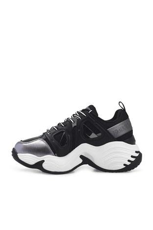 Emporio Armani - Emporio Armani Sneaker Bayan Ayakkabı S X3X099 XM583 R122 SİYAH (1)