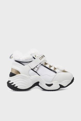 Emporio Armani - Emporio Armani Sneaker Bayan Ayakkabı S X3X122 XM538 N186 BEYAZ