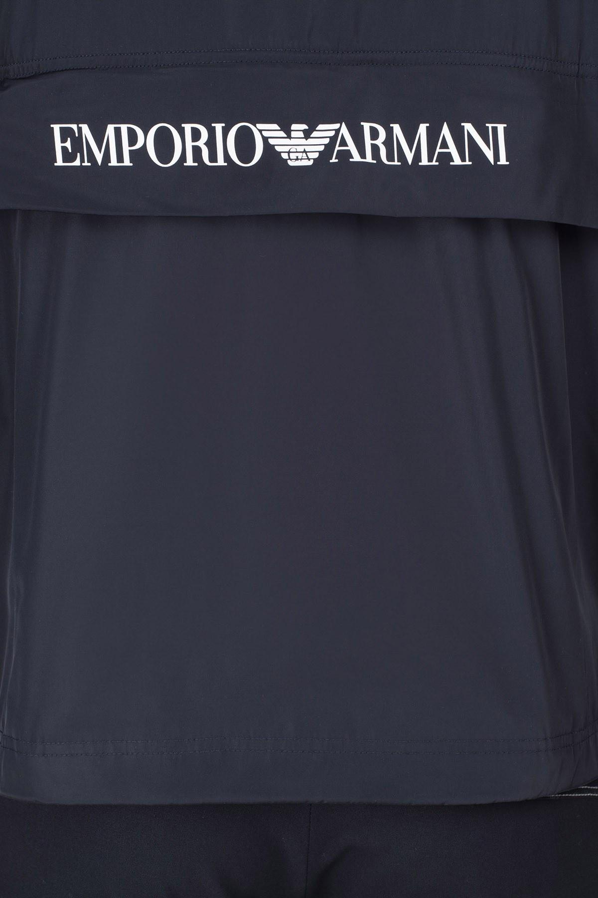 Emporio Armani Su Geçirmez Erkek Mont 3H1B93 1NXGZ 0929 LACİVERT