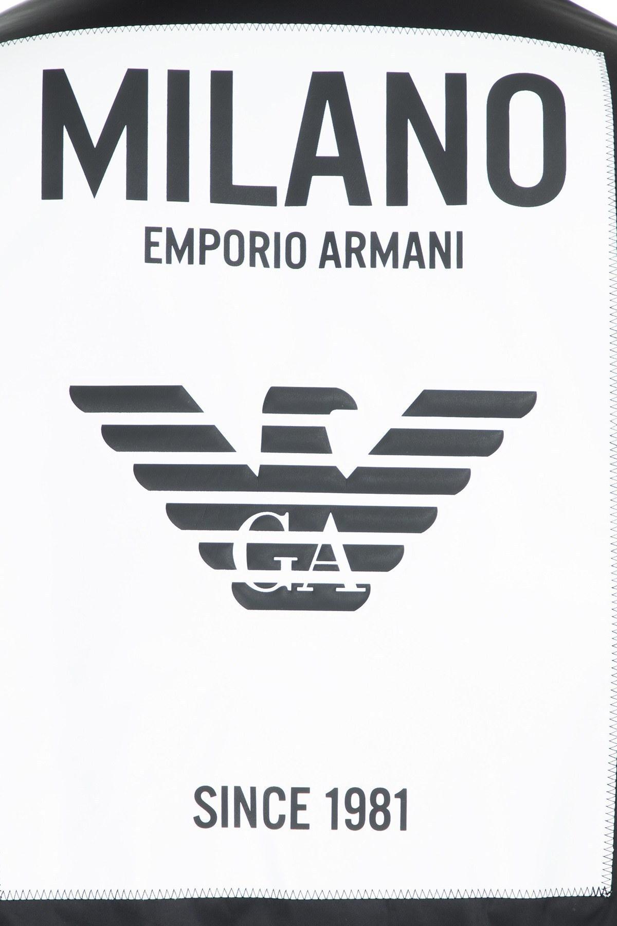 Emporio Armani Su Geçirmez Fermuarlı Erkek Mont S 6G1BB4 1NPKZ 0010 SİYAH