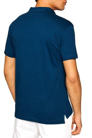 Emporio Armani - Emporio Armani Regular Fit % 100 Pamuk T Shirt Erkek Polo 211837 1P472 03083 PETROL (1)