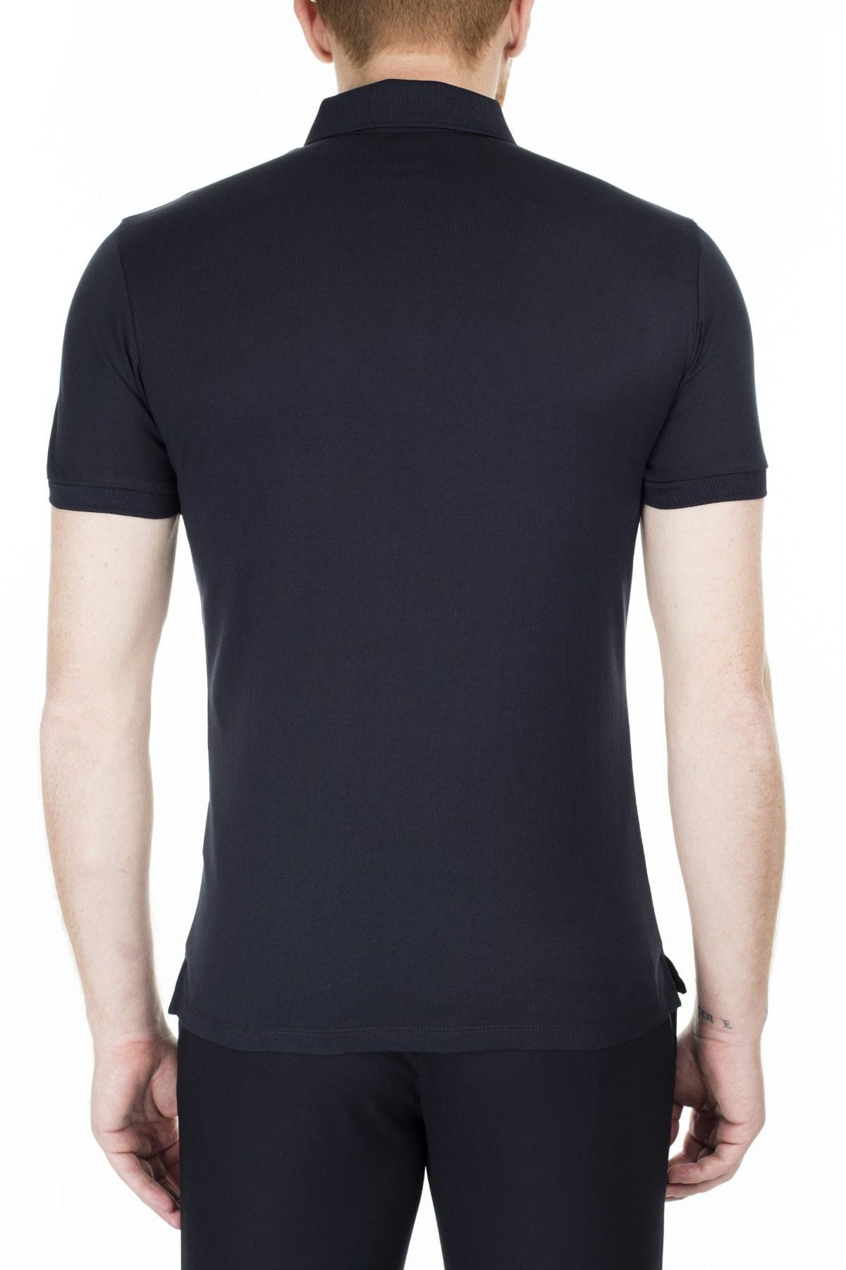 Emporio Armani T Shirt Erkek Polo 3H1F89 1J30Z 0922 LACİVERT