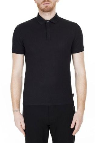 Emporio Armani - Emporio Armani T Shirt Erkek Polo 3H1F94 1JPDZ 0999 SİYAH