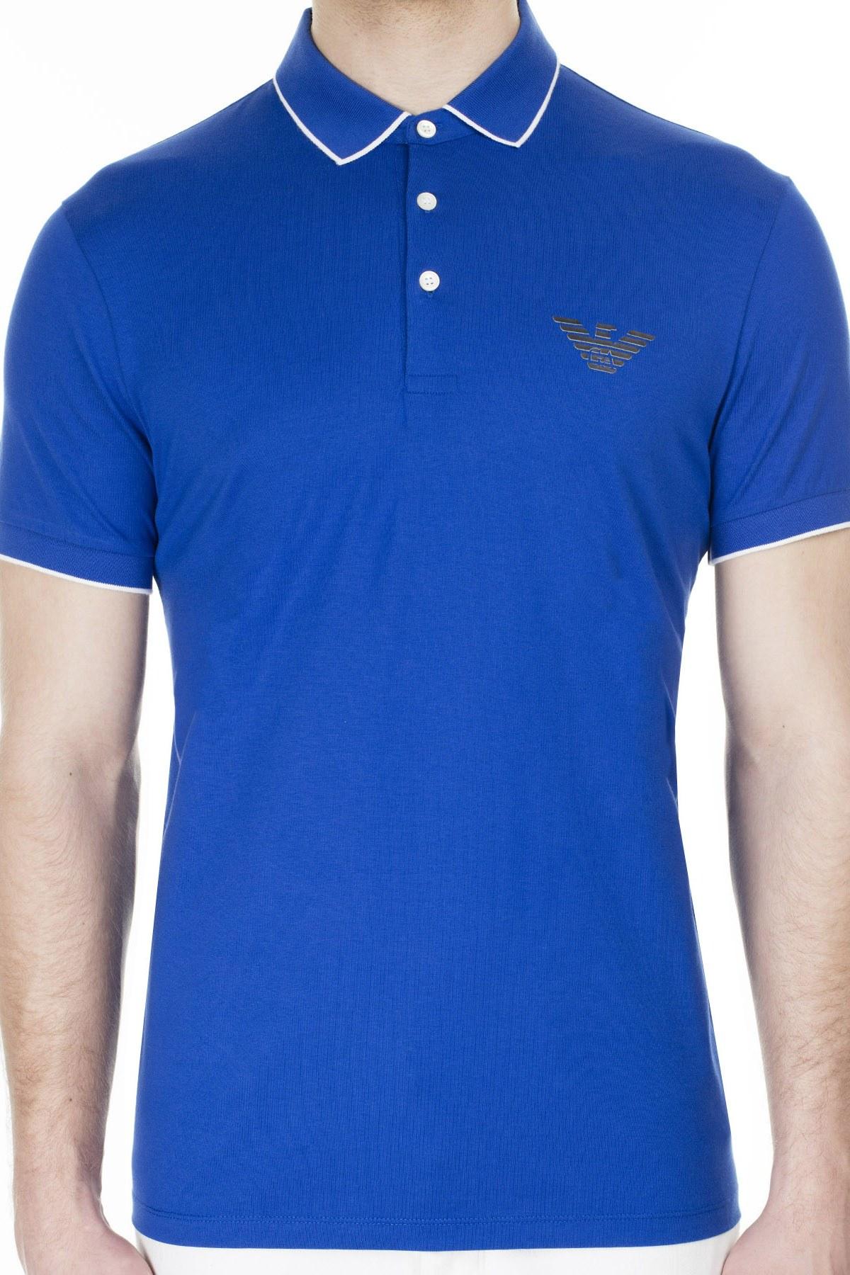 Emporio Armani T Shirt Erkek Polo 3H1FM0 1JCQZ G925 SAKS