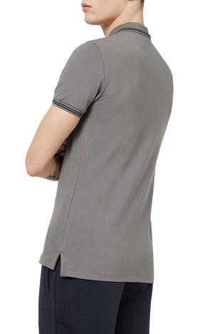 Emporio Armani - Emporio Armani T Shirt Erkek Polo 8N1F30 1JPTZ 0635 GRİ (1)