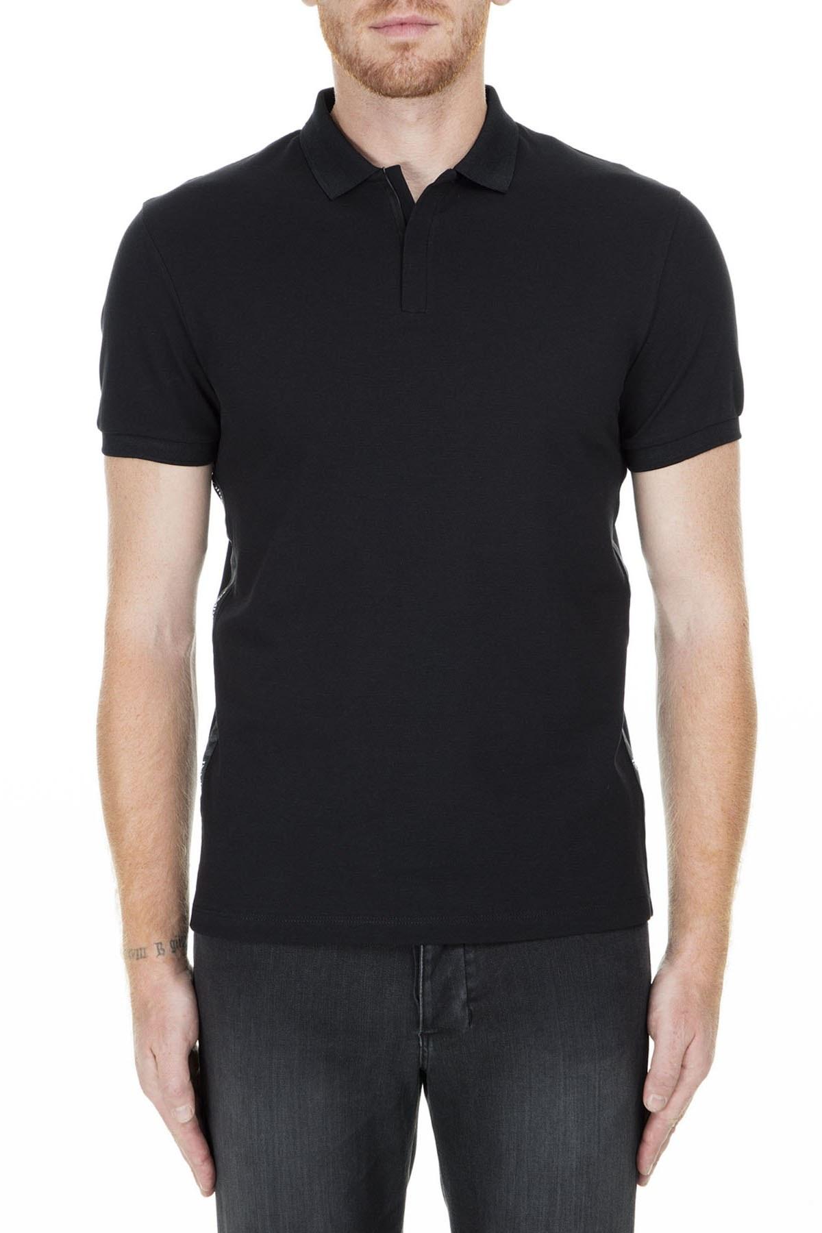 Emporio Armani T Shirt Erkek Polo S 3G1F61 1J0SZ 0999 SİYAH