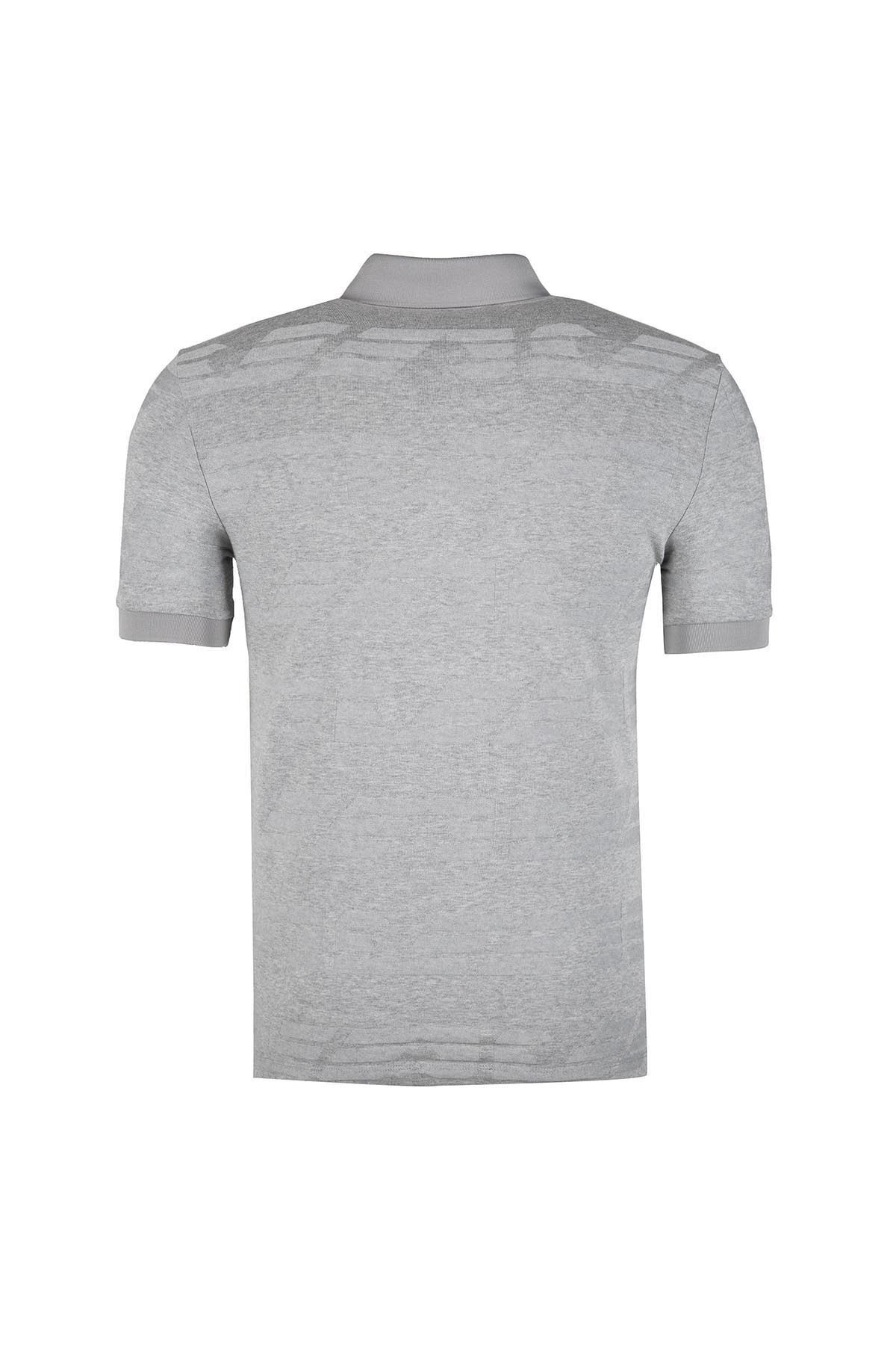 EMPORIO ARMANI T SHIRT Erkek T Shirt 3Z1F64 1JSXZ F606 GRİ