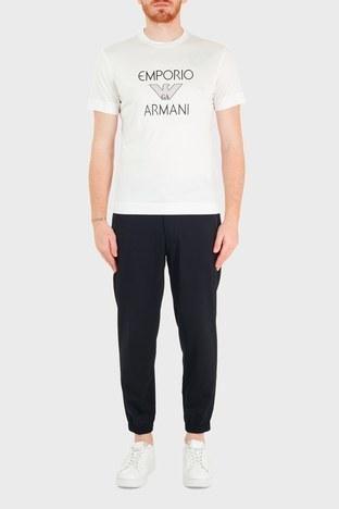 Emporio Armani - Emporio Armani Yünlü Cepli Erkek Pantolon 3K1PL5 1NWUZ 0920 LACİVERT