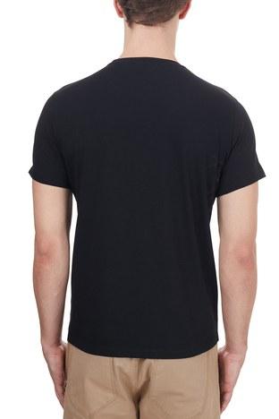 Etro - Etro % 100 Pamuklu Baskılı Bisiklet Yaka Erkek T Shirt 1Y020 97580 001 SİYAH (1)