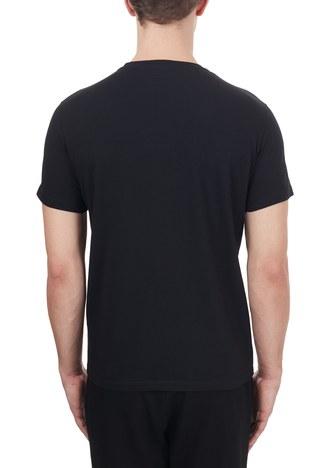 Etro - Etro% 100 Pamuklu Bisiklet Yaka Erkek T Shirt 1Y020 97590 001 SİYAH (1)