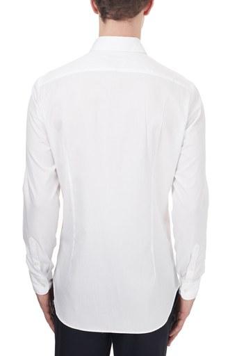 Etro % 100 Pamuklu Düğmeli Yaka Slim Fit Erkek Gömlek 1K964 3204 0990 BEYAZ