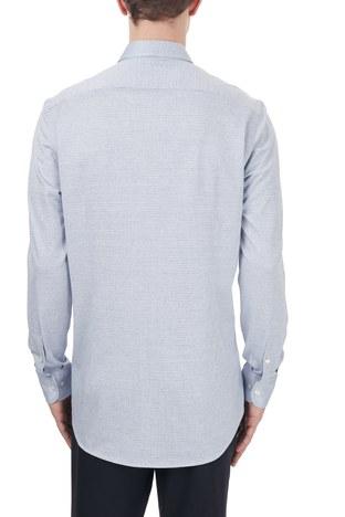 Etro - Etro % 100 Pamuklu Regular Fit Uzun Kollu Erkek Gömlek 1k526 3129 0250 MAVİ (1)